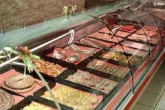 Butcher Shop Product Freezer