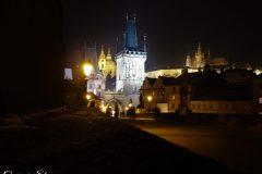 Prague At Night..
